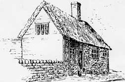 Sketch of Quaker Meeting House