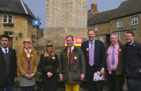 UKIP Leader plus party in Geddington