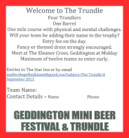 Trundle Entry Form 2013