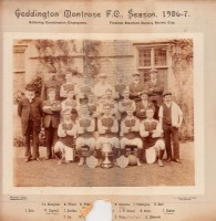 Geddington Montrose 1906-7 complete