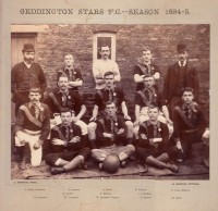 Geddington Stars 1894-5 complete