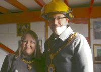 Mayor & Mayoress of Kettering, Cllr Scott and Eve Edwards